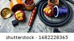 Oriental Smoking Hookah With...