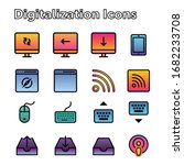digital digitalization gradient ...