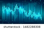 abstract futuristic financial... | Shutterstock .eps vector #1682288308