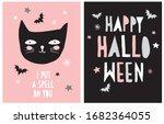 halloween vector decoration for ... | Shutterstock .eps vector #1682364055