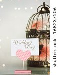 Wedding Decoration And Birdcage