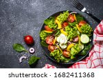 Fresh Vegetables Salad From...