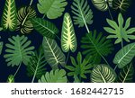 exotic abstract tropical... | Shutterstock .eps vector #1682442715