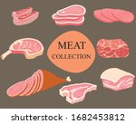 Set Of The Meat Collection Wit...