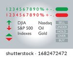 stock market ticker ui symbols  ...