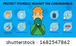 2019 ncov covid 19 virus... | Shutterstock .eps vector #1682547862