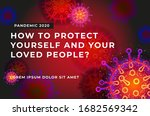 banner for placing text about... | Shutterstock .eps vector #1682569342