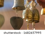 Small Brass Bells Hanging On...