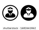 police icon set on white...   Shutterstock .eps vector #1682661862
