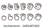illustration showing numbers 1... | Shutterstock .eps vector #1682687602