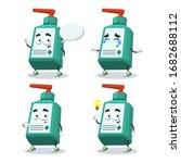 set of cartoon medical hand... | Shutterstock .eps vector #1682688112