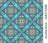 ethnic seamless pattern cute... | Shutterstock .eps vector #168271088