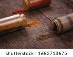 chilli colorful powder spices...   Shutterstock . vector #1682713675