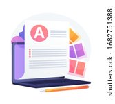 electronic document. electronic ...   Shutterstock .eps vector #1682751388