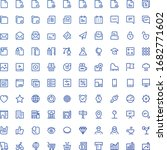 web ui icons scalable vector