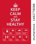 Keep Calm And Stay Healthy....
