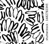 wavy and swirled brush strokes...   Shutterstock .eps vector #1682782345