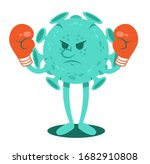 angry cartoon character of...   Shutterstock .eps vector #1682910808