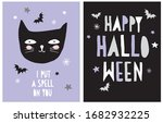 halloween vector decoration for ... | Shutterstock .eps vector #1682932225