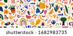 decorative abstract seamless... | Shutterstock .eps vector #1682983735