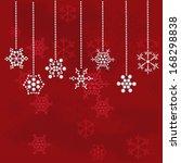 christmas vector background | Shutterstock .eps vector #168298838