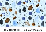 hand painting abstract... | Shutterstock . vector #1682991178