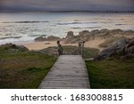A Boardwalk In Corrubedo...