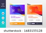 colorful creative company and... | Shutterstock .eps vector #1683155128