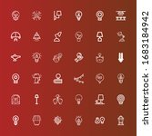 editable 36 invention icons for ...   Shutterstock .eps vector #1683184942
