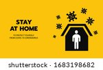 vector of shelter in place or... | Shutterstock .eps vector #1683198682