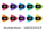 bullet points  info markers.... | Shutterstock .eps vector #1683222415