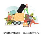 male characters  home... | Shutterstock .eps vector #1683304972