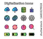 digital digitalization gradient ...