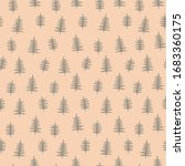 seamless floral pattern ... | Shutterstock .eps vector #1683360175
