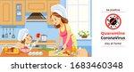 coronavirus or covid 19... | Shutterstock .eps vector #1683460348