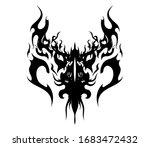dark lord protective battle... | Shutterstock .eps vector #1683472432