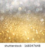 white silver and gold abstract  ... | Shutterstock . vector #168347648
