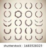 set of different vintage... | Shutterstock .eps vector #1683528325