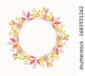 vector flower background....   Shutterstock .eps vector #1683531262