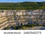 old stone quarry opencast mine... | Shutterstock . vector #1683560275