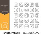 user interface icon set for...