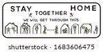 corona virus together we will... | Shutterstock .eps vector #1683606475