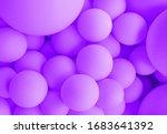 Purple Background Balloons ...