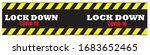 lockdown banner  as an effort... | Shutterstock .eps vector #1683652465