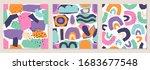 set of seamless pattern... | Shutterstock .eps vector #1683677548