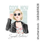cool now sweet later slogan... | Shutterstock .eps vector #1683685828