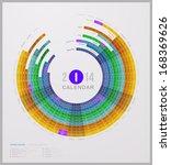 abstract calendar 2014  federal ... | Shutterstock .eps vector #168369626