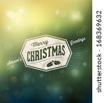 holidays typography over... | Shutterstock .eps vector #168369632
