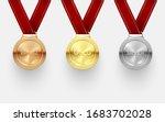 award medal set  trophy and... | Shutterstock .eps vector #1683702028