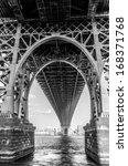 under the manhattan bridge | Shutterstock . vector #168371768